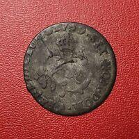 #1489 - RARE - Louis XV Double sol en billon 1759 A Paris RARE R2 - FACTURE
