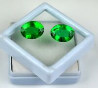 Oval Muzo Colombian Emerald Collection Pair 100% Natural 10-12 Ct AGSL Certified