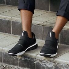 🔥$180 Men's ECCO INTRINSIC 2 SLIP ON Black 42 golf 9 9.5 walking shoes cool