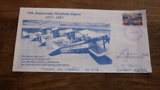 AUSTRALIAN PHILATELIC FLIGHT COVER, 1997 PARAFIELD AIRPORT 70th ANNIV CARRIED