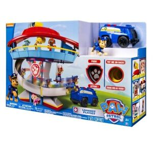 Paw Patrol 12010521 The Lookout Playset, NEW, Chase & Police Vehicle