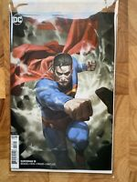 SUPERMAN #18 SKAN VARIANT COVER EDITION, DC COMICS COLLECTIBLE COVER ART