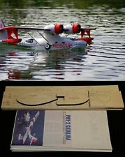 67 in. wing span Catalina PBY-2 R/c Plane short kit/semi kit and plans