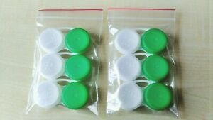 6 Contact Lens Cases Bausch + Lomb