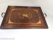 Antique inlaid Rosewood Tray    ref 1408 8/3 KP9 kx