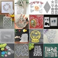 6pcs Square Frame Metal Cutting Die For DIY Scrapbooking Album Paper Cards Pip