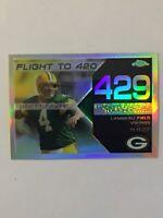 2008 Topps Chrome Brett Favre Refractor 110/199 #BFC-429 HOF MINT!!