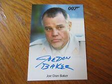 James Bond Archives 2016 SPECTRE Joe Don Baker as Brad Whitaker Autograph Card