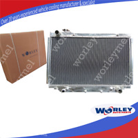 For TOYOTA Landcruiser Radiator HDJ80 HZJ80 FJ80 FZJ80 3 row Aluminum AUTO