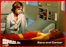 SPACE 1999 - Card #27 - Zova and Cantar - Unstoppable Cards Ltd 2015