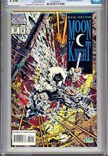 CGC 9.8-MARC SPECTOR: MOON KNIGHT #55(10/93)1st PUBLISHED STEPHEN PLATT ARTWORK!