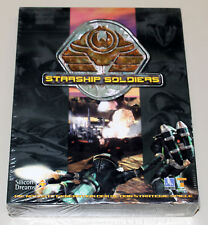 STARSHIP SOLDIERS - PC SPIEL GAME - NEU NEW SEALED BIG BOX MANUAL - RARE!!
