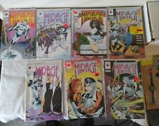 LOT 7 VALIANT THE SECOND LIFE OF DOCTOR MIRAGE ISSUES 1993 1 2 3 4 6 9 10 VF NM