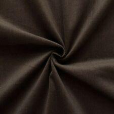 Baumwollstoff Feincord Stoff Babycord Dunkel Braun 140cm breit Modestoff Fashion