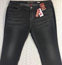 ARIZONA Junior's Gray Jegging Stretch Jeans Sz 20 Jrs. Plus Super Skinny Leg NWT