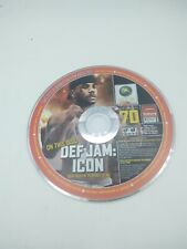 OFFICIAL XBOX MAGAZINE DEMO GAME ~  Def Jam: Icon ~ DISC #  70 ~ DISC ONLY