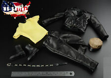 1/6 Leather Jacket Set For Negan T-800 Arnold Hot Toys Phicen Male Figure ❶USA❶