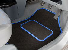 FORD FIESTA MK5 (2002 TO 2008) TAILORED CAR MATS WITH BLUE TRIM [2658]