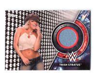WWE Trish Stratus 2018 Topps Women's Division Mat Relic Card SN 172 of 199