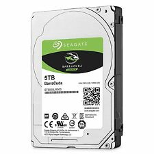 "5TB Seagate Barracuda ST5000LM000 2.5"" Internal Hard Drive 15mm 0.59"" height"