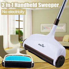 3in1 Hand Push Sweeper Broom Household Floor Cleaning Mop Without Electricity