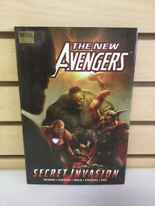 The New Avengers Vol 8 Secret Invasion Book 1 Hardcover HC Marvel Comics