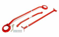 TA TECHNIX Strut Brace Bar KIT strutbars Rosso Anteriore e Posteriore VW GOLF MK3