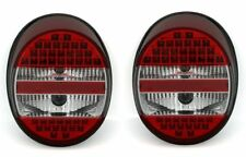CLEAR LED REAR TAIL LIGHTS FOR OLD VW BEETLE BUG 08/1972 ONWARDS NICE GIFT