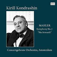 KIRILL KONDRASHIN & CONCERTGEBOUW...-MAHLER SYMPHONY NO.7-JAPAN CD Num
