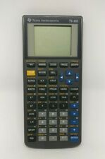 Texas Instruments TI-80 Graphing Calculator No Cover Screen Flaw Parts Repair