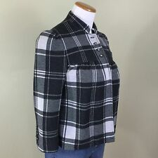 MIXIT Cropped Jacket Fully Lined 3/4 Sleeve Women's Size Small