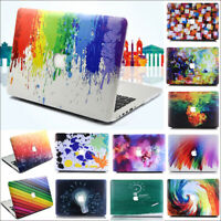 Colorful Cut Out Design Hard Case Cover for Macbook Air Pro 11 13 15 & Touch Bar