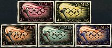 Yemen 1960 SG#126-130 Olympic Games MNH Set #D58484