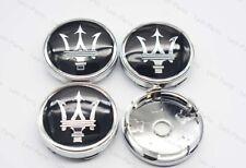 1Set 60mm Car Wheel Center Hub Caps Badge Rim Dust Cover Logo for Maserati