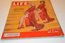 1953 Life Magazine Marilyn Monroe Jane Russell Gentlemen Prefer Blondes Movie ad