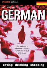PIGEON ALLEMAND : Almost Get par en allemand par livre de poche 9780953436088 NE