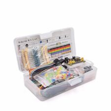 Electronics Component Basic Starter Kit with 830 tie-points Breadboard Cable Res