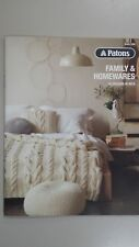 Patons Pattern Book #1309 Family & Homewares 15 Designs in Inca Wool & Alpaca