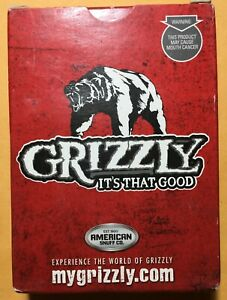 Grizzly Smokeless Tobacco Playing Cards
