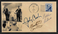 Johnny Cash Luther Perkins Marshall Grant Tennessee Two Collector Envelope O1203