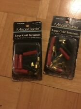 Megacable Large Gold Terminals 12 Gauge Two Sets Of 8
