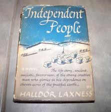 1946 INDEPENDENT PEOPLE AN EPIC HALLDOR LAXNESS FIRST EDITION PRINTING DJ
