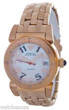 Aqua Master Rose Gold-tone Stainless Steel MOP Dial Diamond Women's Watch W88J
