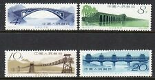 China 1962 Bridges (S50) set fresh looking mint
