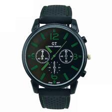 Men Fashion Style Stainless Steel Sport Quartz Hours Wrist Analog Watch C MM7