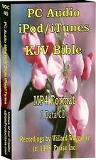 Ipod/Itunes KJV Audio Bible in MP4 format 628 Megs