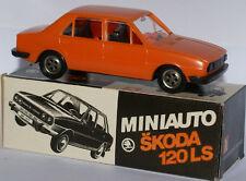 Miniauto Skoda 120 LS (Czechoslovakia) - Very Rare Model in I:43 Scale