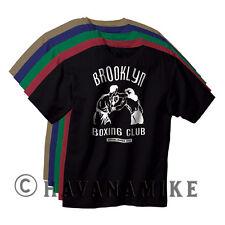 BROOKLYN BOXING Club New York City Vintage Black Gym T-Shirt Mike Tyson NYC