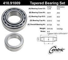 Centric Parts 410.91009 Rear Wheel Bearing Set