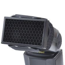 Honeycomb Grid Net Web Filter for Canon 600EX-RT Nikon SB910 Speedlite Flash